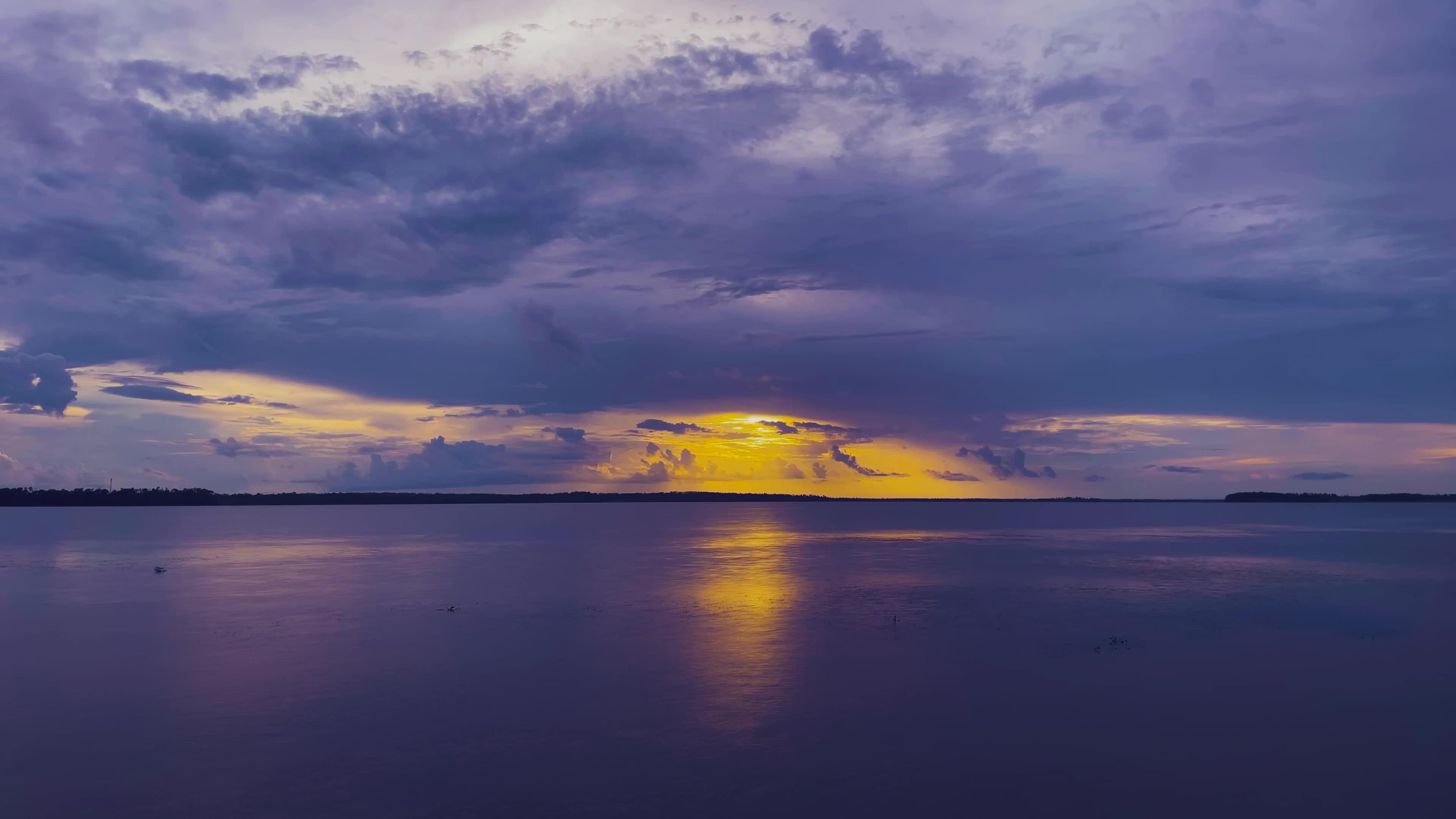 实拍大海风景视频素材