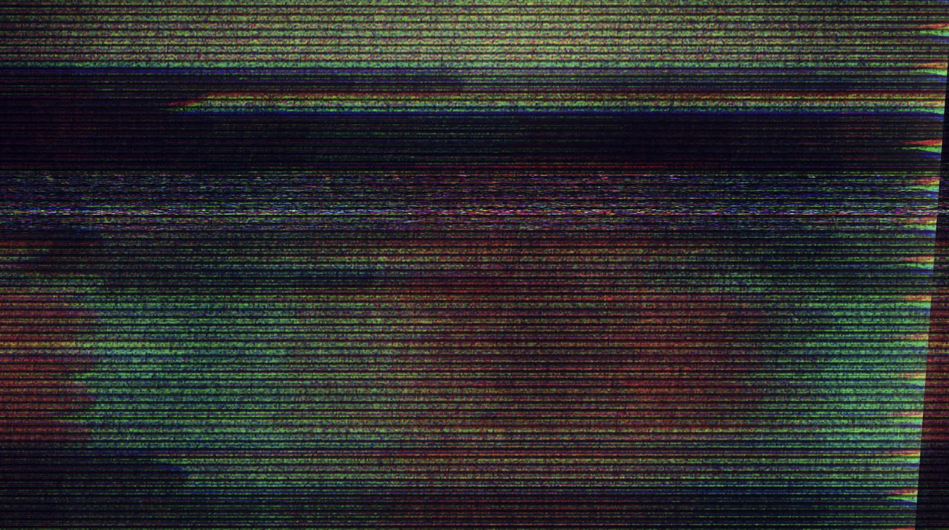 信号干扰屏幕花屏转场叠加效果素材