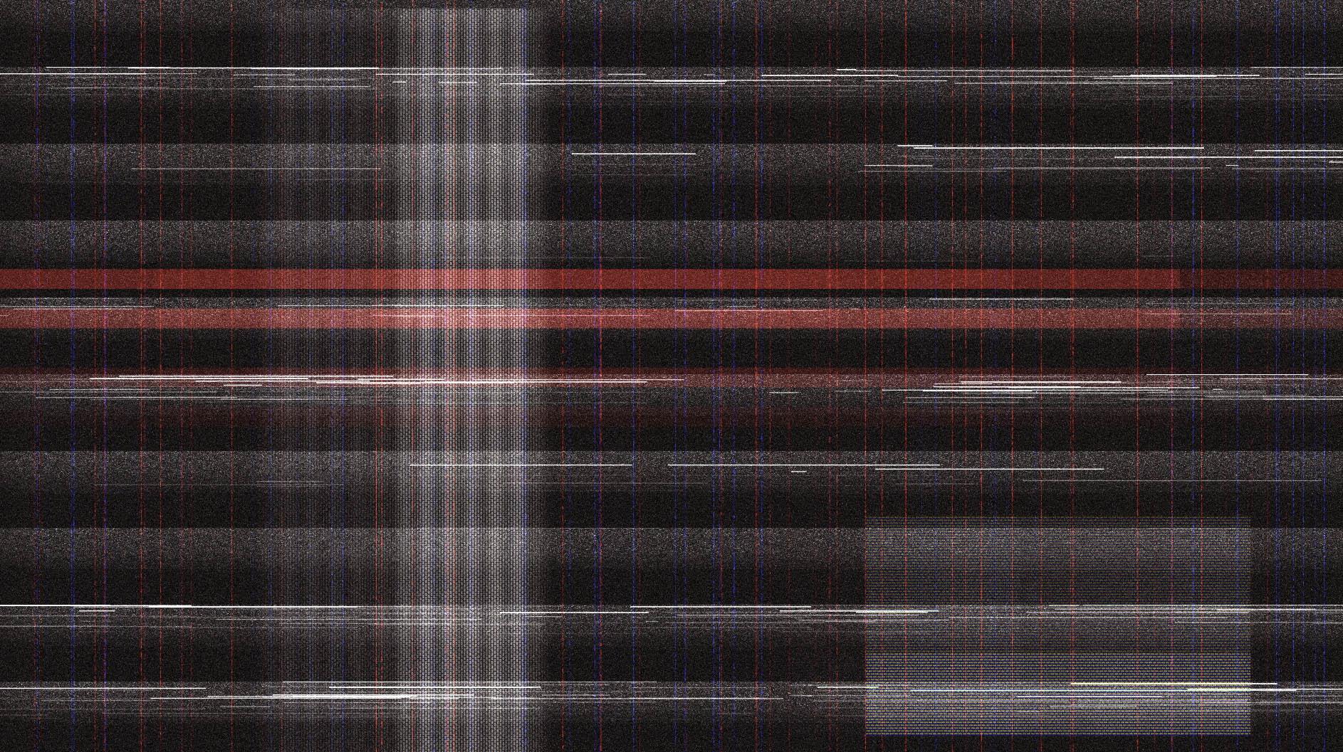 信号干扰屏幕花屏视频前景叠加效果