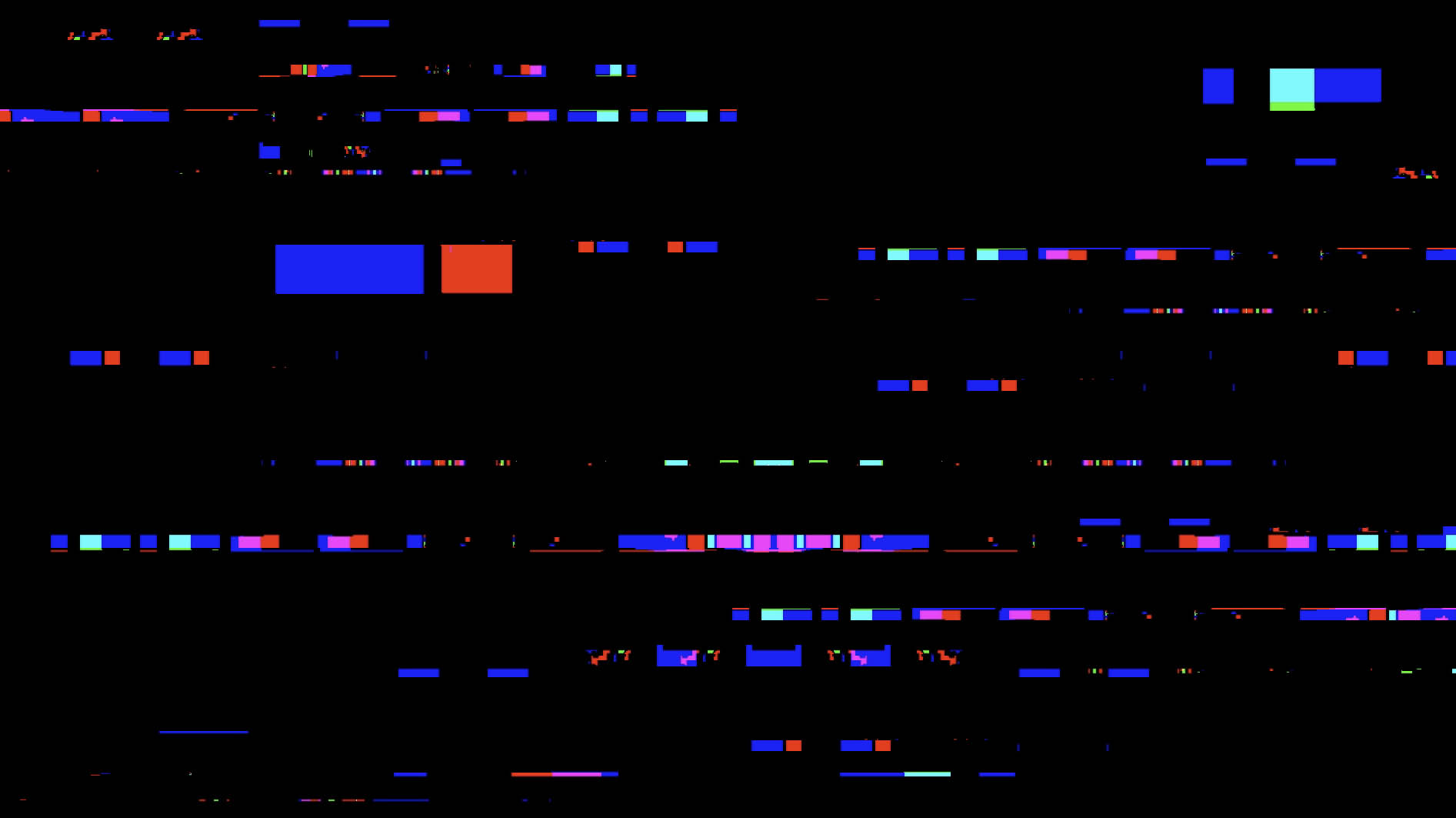屏幕花屏乱码叠加转场素材
